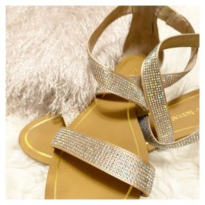 Enzo Angiolini - Sparkly Strappy Sandals
